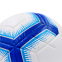 Мяч для футзала №4 Клееный-PVC PREMIER LEAGUE 2018-2019 FB-7273 (белый-синий) Дубл 2