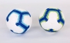 Мяч для футзала №4 Клееный-PVC PREMIER LEAGUE 2018-2019 FB-7273 (белый-синий) Дубл 3