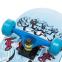 Скейтборд в сборе (роликовая доска) 880-4 (колесо-PU, р-р деки см) 1
