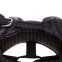 Шлем боксерский в мексиканском стиле кожаный UFC PRO Prem Lace Up UHK-75054 (р-р S-M, черный) 3