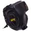 Шлем боксерский в мексиканском стиле кожаный UFC PRO Prem Lace Up UHK-75056 (р-р L-XL, черный) 0