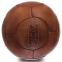 Мяч футбольный Leather VINTAGE F-0252 №5 коричневый 0