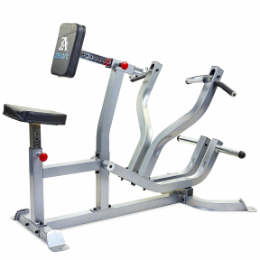 Тяга к груди с упором Zelart AX1026 Seated Row Machine (металл, PVC, р-р 150x90x121см) уп. в 2ящ.