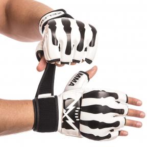Перчатки для смешанных единоборств MMA PU ZELART BO-1395 (р-р S-L, цвета в ассортименте)