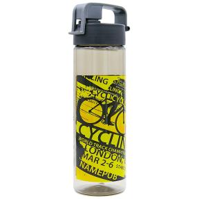 Бутылка для воды спортивная SP-Planeta FOOTBALL 600 мл 6637 (PC, черный, синий, красный)