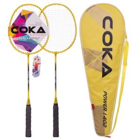 Набор для бадминтона в чехле COKA 1402 цвета в ассортименте