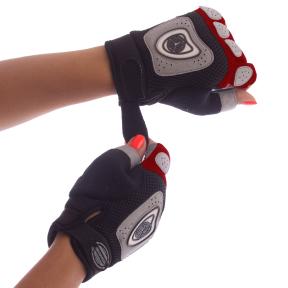 Перчатки велосипедные велоперчатки SCOYCO ВG06 S-L цвета в ассортименте