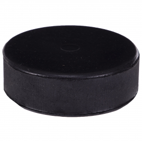 Шайба хоккейная UR H-4078 (резина, диаметр-8см, высота-2,5см, вес-145г, черный) Большая