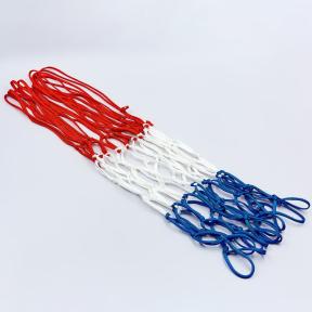 Сетка баскетбольная SPALDING 8279SCNR бело-красно-синий 1шт