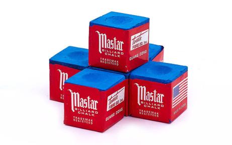 Мел для бильярда (уп. 12шт) MASTER KS-1110 (синий, цена за 12шт)