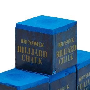 Мел для бильярда (уп. 144шт) BRUNSWICK KS-BK144 (синий, цена за 1шт)
