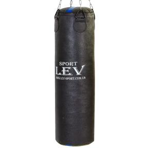 Мешок боксерский Цилиндр LEV LV-2804 высота 100см черный