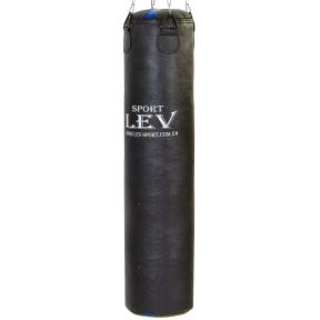 Мешок боксерский Цилиндр Кирза h-140см LEV UR LV-2809 (наполнит.-ветошь, d-33см,вес-40кг, черный)