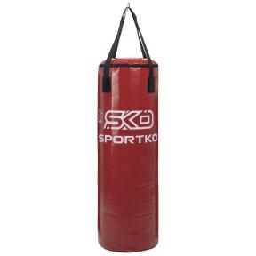 Мешок боксерский Цилиндр ременное крепление ЭЛИТ SPORTKO MP-1 высота 110см цвета в ассортименте