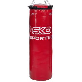 Мешок боксерский Цилиндр с кольцом и цепью ЭЛИТ SPORTKO MP-22 высота 110см цвета в ассортименте