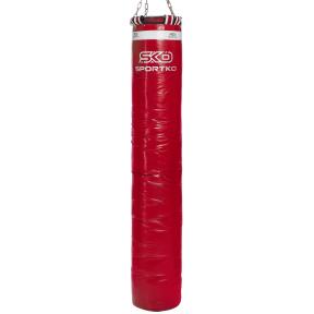 Мешок боксерский Цилиндр с кольцом и цепью SPORTKO MP-4090 высота 180см цвета в ассортименте