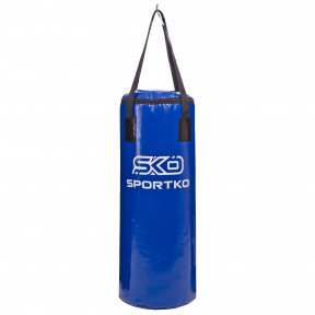 Мешок боксерский Цилиндр ременное крепление Бочонок SPORTKO MP-6 высота 75см цвета в ассортименте