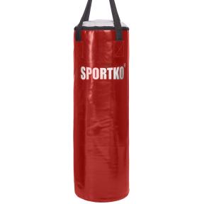 Мешок боксерский Цилиндр ременное крепл. ПВХ h-85см Классик SPORTKO MP-3 (др.опилки,d-32см,вес-20кг, цвета в ассортименте)