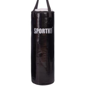 Мешок боксерский Цилиндр ременное крепление Классик SPORTKO MP-3 высота 85см цвета в ассортименте