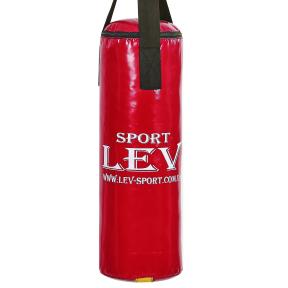 Мешок боксерский Цилиндр Тент h-65см LEV UR LV-2803 (наполнит.-ветошь, d-28см, вес-8кг, цвета в ассортименте)