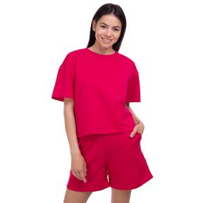 Костюм спортивный женский футболка и шорты STIG Сейтурий CO-3480 S-M цвета в ассортименте