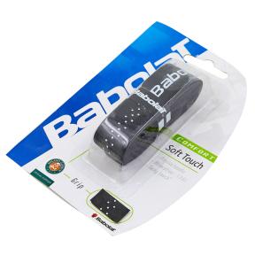 Обмотка на ручку ракетки теннис,сквош,бадминтон Grip BABOLAT 670015-145 SOFT TOUCH (1шт, черный)
