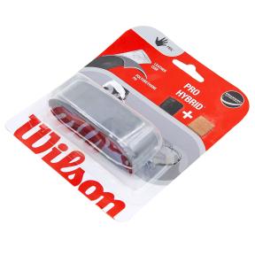Обмотка на ручку ракетки теннис,сквош,бадминтон Grip WILSON WRZ486000 PRO HYBRID REPL (1шт, черный)