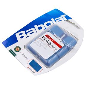 Обмотка на ручку ракетки теннис,сквош,бадминтон Overgrip BABOLAT 653014-136 VS (3шт, синий)