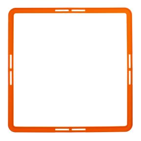 Тренировочная напольная сетка (квадратная 1шт) HEXAGON Agility Grid C-1411 (пластик, р-р 42,5х42,5см, цвета в ассортименте)