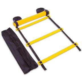 Координационная лестница дорожка для тренировки скорости 10м (20 переклад) C-4607 (10мx0,52мx2мм,цвета в ассортименте)