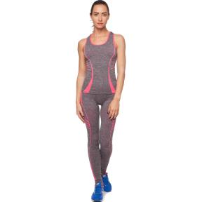 Комплект для занятий фитнесом и йогой майка и лосины SIBOTE ST-2097 (полиэстер, безразмерный 44-48, цвета в ассортименте)