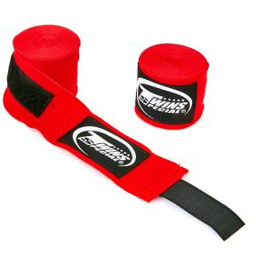 Бинты боксерские хлопок с эластаном TWINS CH-5 5м цвета в ассортименте