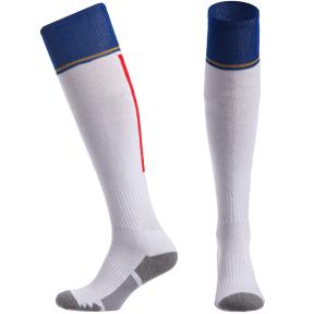 Гетры футбольные с символикой сборной Италии ITALY CO-5079-ITAL-W (размер 32-43, белый)