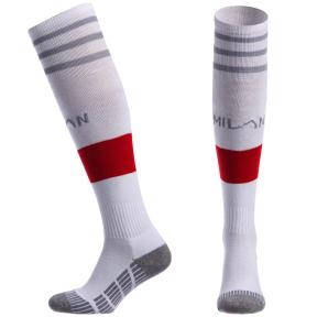 Гетры футбольные с символикой футбольного клуба AC MILAN HOME CO-5079-ACM-W (размер 32-43, белый)