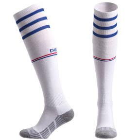 Гетры футбольные с символикой футбольного клуба CHELSEA AWAY CO-5079-CH-W (размер 32-43, белый)