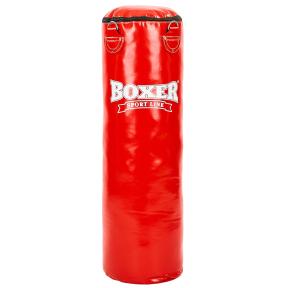 Мешок боксерский Цилиндр ПВХ h-100см BOXER Классик 1003-03 (наполнитель-ветошь х-б, d-33см, вес-26кг, цвета в ассортименте)