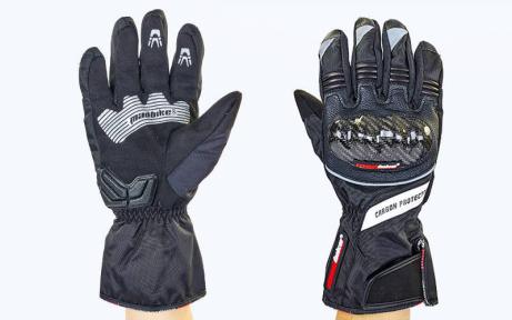 Мотоперчатки зимние MADBIKE MAD-19 M-XL черный
