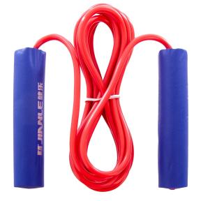 Скакалка с PVC жгутом KEPAI 9906 (l-2,8м, d-5мм, мягкие ручки EVA, цвета в ассортименте)