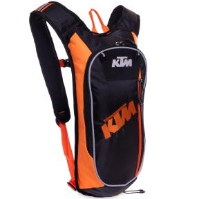 Моторюкзак с питьевой системой KTM MS-5122-KO (PL, р-р 49х16х8см, черный-оранжевый)