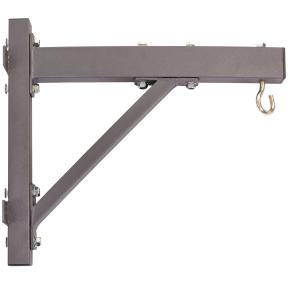 Крепление настенное с крюком для боксерского мешка SR7606B (металл, р-р 52x12x47см)