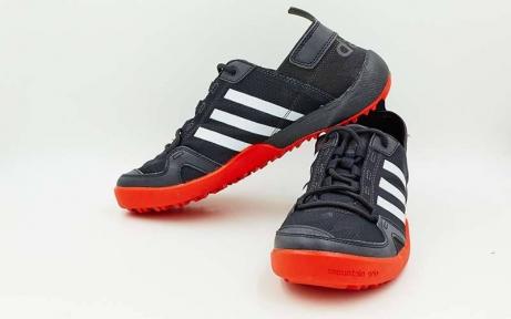 Кроссовки спортивные AD Doroga new 9988-R размер 40-44 черный-красный