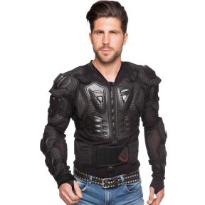 Моточерепаха мотозащита SCOYCO AM02-A (PL, пластик, сетчатая ткань, р-р M-XXL (RUS-44-52),черный)