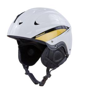 Шлем горнолыжный MOON MS-86W-L L белый-золотой