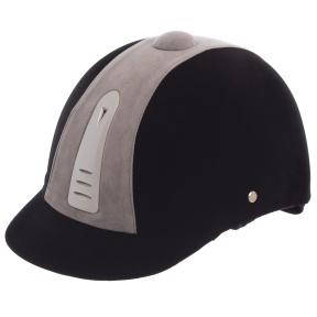 Шлем для верховой езды BC-908-1 (ABS, р-р 54, черный)
