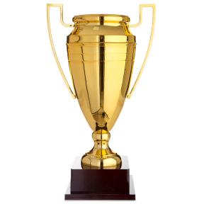 Кубок спортивный с ручками 1430A (металл, пластик, h-52см, b-30см, d чаши-18,5см, золото)