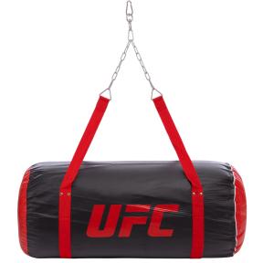 Мешок боксерский Апперкотный PVC h-91см UFC PRO UHK-75101 (d-46см, вес-25кг, черный)