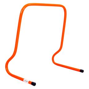 Барьер беговой (1шт) C-4592-40 (пластик, р-р 40x46x30см, оранжевый)
