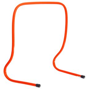 Барьер беговой (1шт) C-4592-50 (пластик, р-р 50x46x30см, оранжевый)