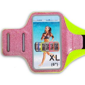 Чехол для телефона с креплением на руку для занятий спортом С-0327 (для iPhone и iPod 18x7см, цвета в ассортименте)