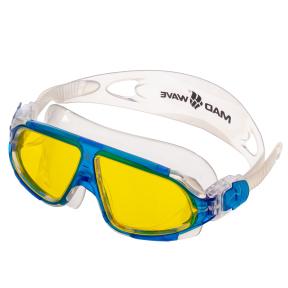 Очки-полумаска для плавания MadWave SIGHT II M046301 (поликарбонат, силикон, цвета в ассортимнте)